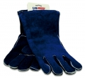 Blue Leather Welder?s Glove