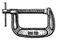 "1"" Great Neck C-Clamp"