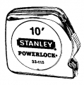 1/4x10? Stanley Tape