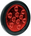 LED Red Round Tail Light